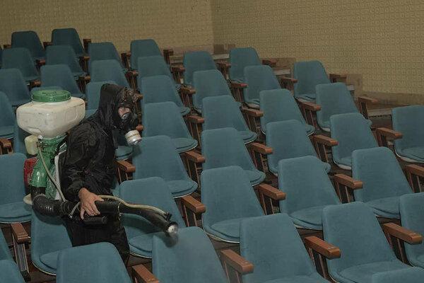 تالارهای تئاتر شهر ضدعفونی شدند