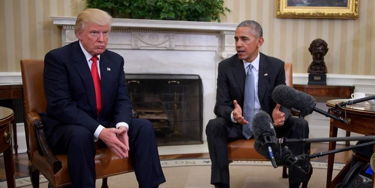 ترامپ: دولت اوباما و بایدن فاسدترین دولت در تاریخ است