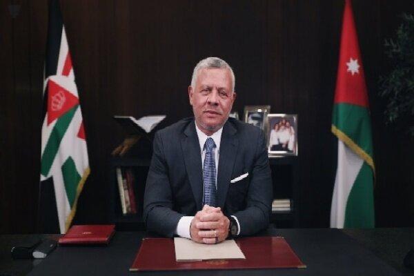 تاکید شاه اردن بر ضرورت حمایت جامعه جهانی از لبنان