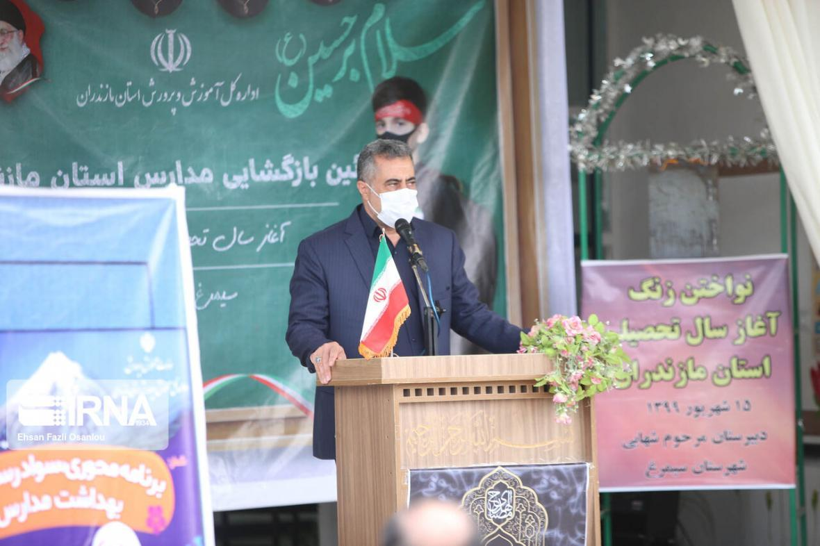 خبرنگاران مدیرکل آموزش و پرورش مازندران : اولویت با آموزش حضوری است