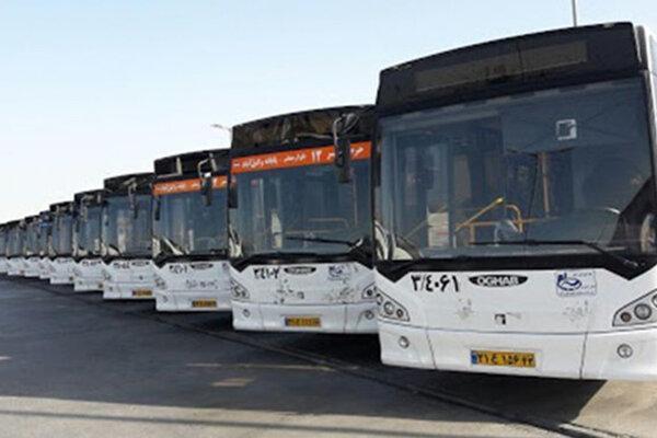 شروع فعالیت 50 درصد اتوبوس های درون شهری بوشهر از مهر