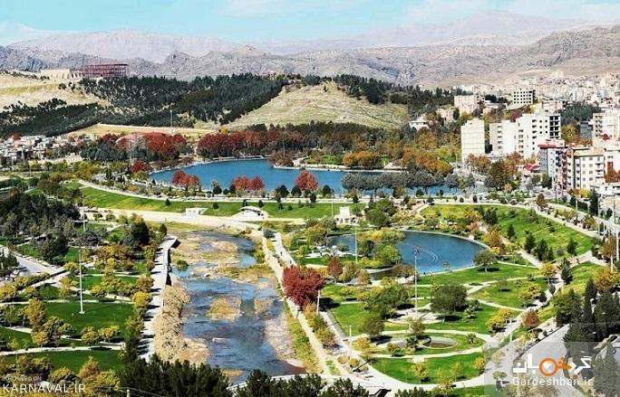 کیو؛ دریاچه ای طبیعی در دل خرم آباد