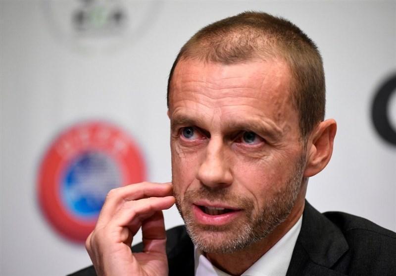 چفرین: سوپرلیگ اروپا فوتبال را خواهد کشت، این داستان ها زیر سر رسانه های ایتالیایی است!