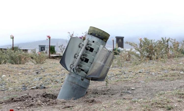 امروز 71 راکت جنگ قره باغ به خداآفرین اصابت کرد