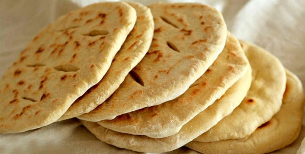 طرز پخت نان لواش در منزل بدون فر
