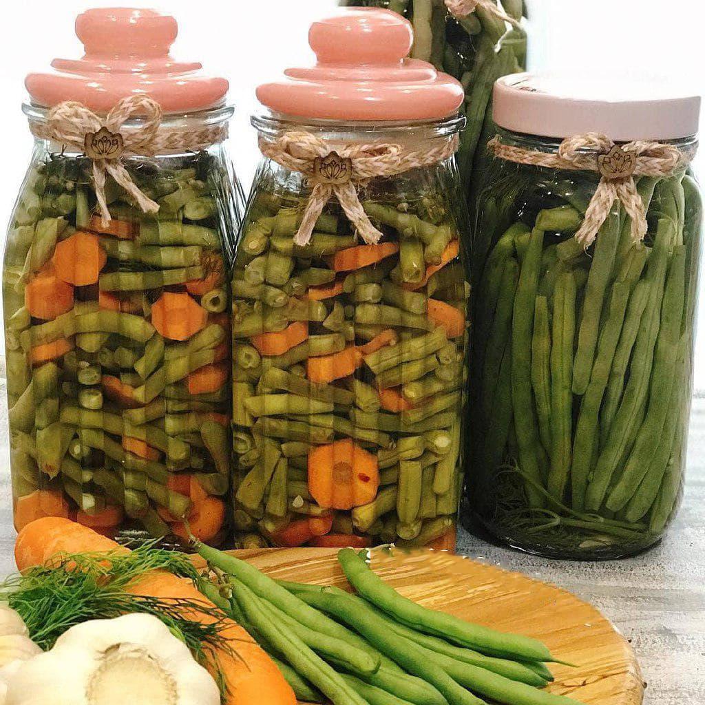 طرز تهیه ترشی لوبیا سبز