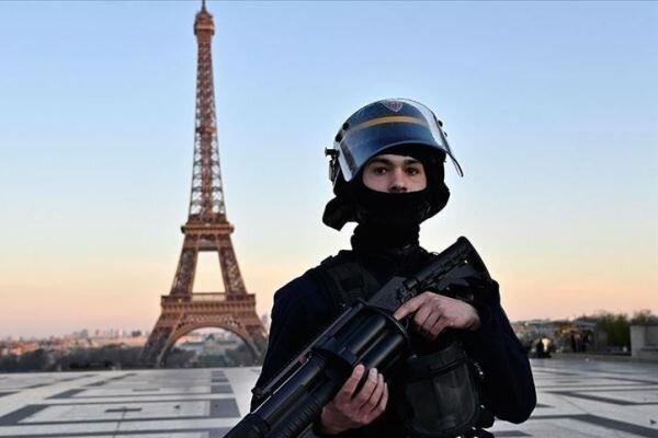 100 هزار پلیس در خیابان های فرانسه مستقر شدند