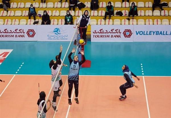 لیگ برتر والیبال بانوان، ذوب آهن اصفهان از پیکان انتقام گرفت