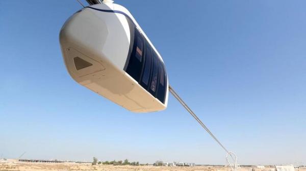 اولین مونوریل برقی در امارات رونمایی شد