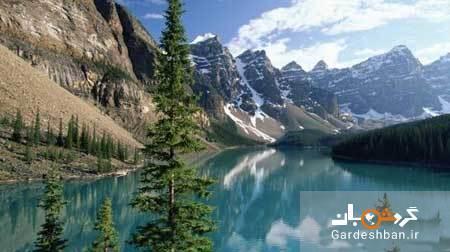 منظره حیرت انگیز دره 10 قله کانادا