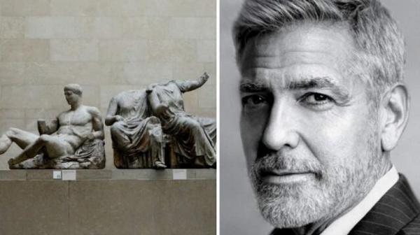 درخواست جورج کلونی از موزه بریتانیا