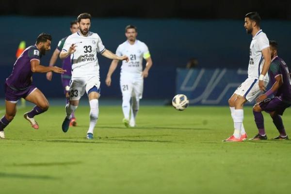 پیروزی استقلال مقابل الشرطه عراق در نیمه نخست