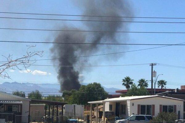 یک فروند جنگنده آمریکا سقوط کرد، خلبان کشته شد
