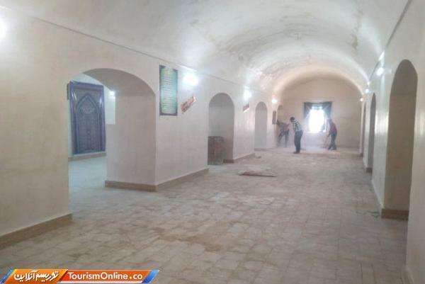 بازسازی مسجد جامع خضری دشت بیاض
