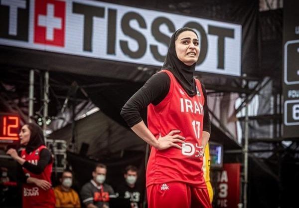 انتخابی بسکتبال سه نفره المپیک، شکست ایران برابر چین تایپه