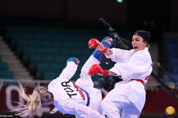 شکست سارا بهمنیار در دومین مبارزه؛ شانس صعود باقی است