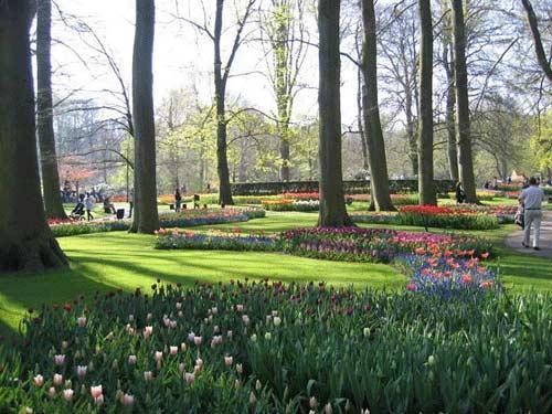 عکس هایی از زیباترین پارک بهاری دنیا